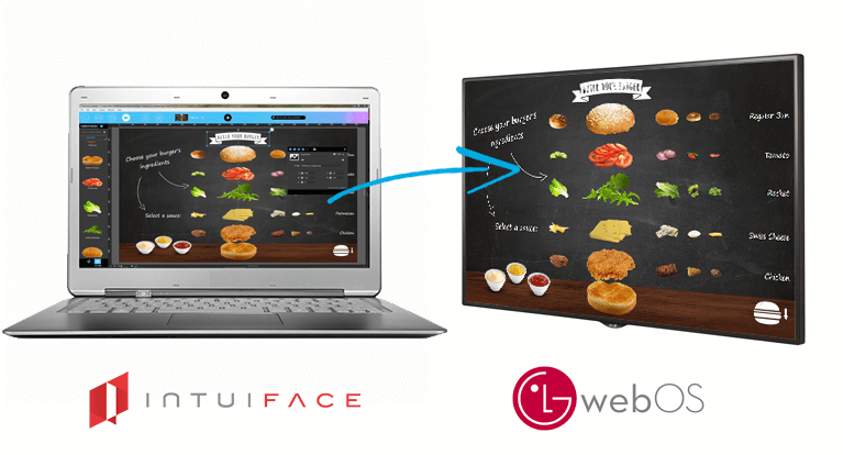 IntuiFace Now Supports webOS Signage From LG