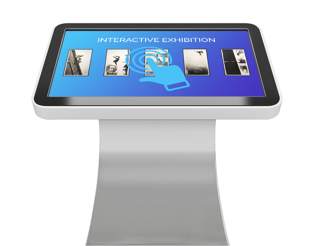 Touchscreen Kiosk for Museum