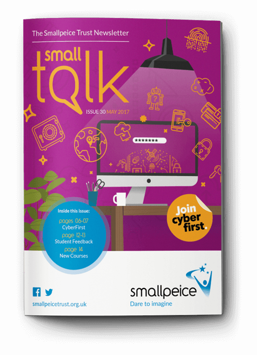 SmallTalk Cover Design