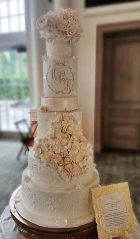 Best New Jersey Wedding Cakes
