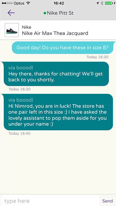 Booodl Chat