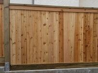 2nd cedar fence