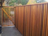 3rd cedar fence