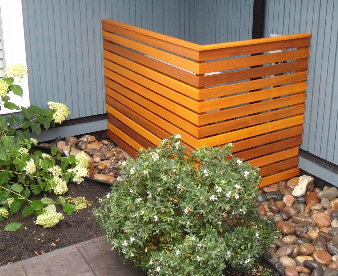 Cedar containment box