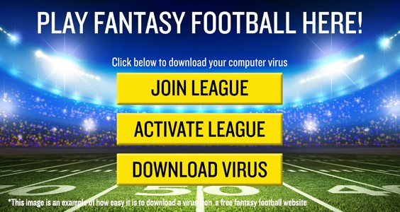 Believe it or Not, Fantasy Football Can Pose a Serious Security Threat