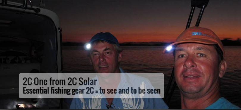 2C One from 2CSolar - essential fishing gear
