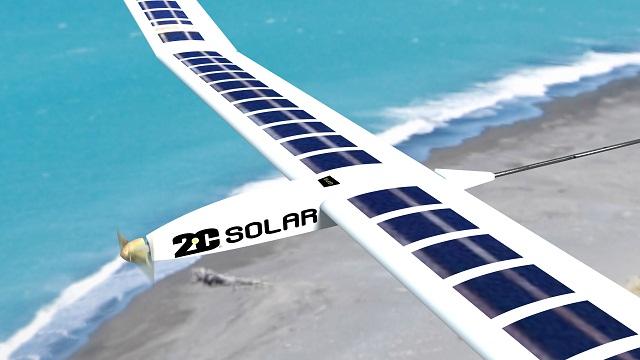 2C Solar Drone UAV