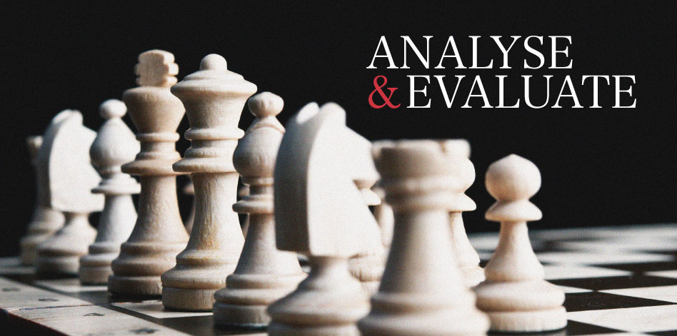 Analyse & Evaluate