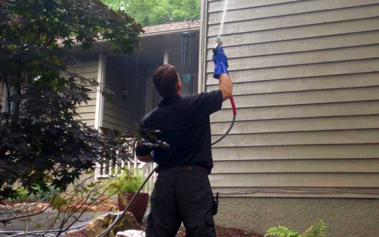 Power Washing in Asheville NC