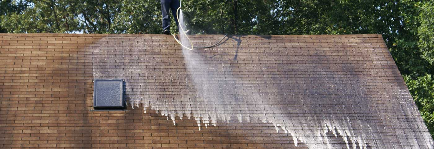 Roof Cleaning in Brevard NC
