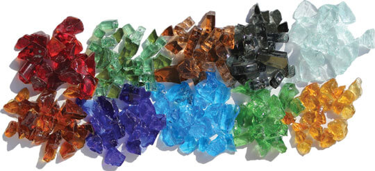 Fire Glass colors