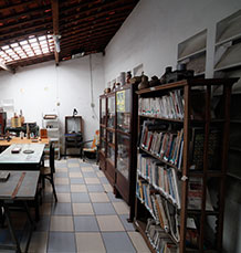 Biblioteca do Minimuseu Firmeza