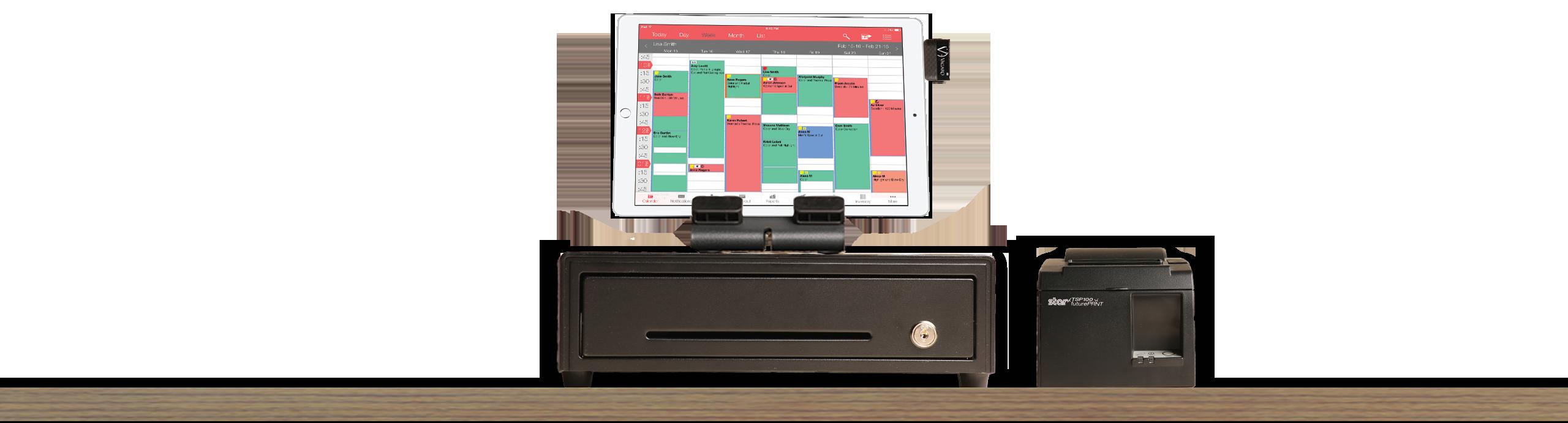 POS Salon and Spa Vagaro Software iPad Tablet