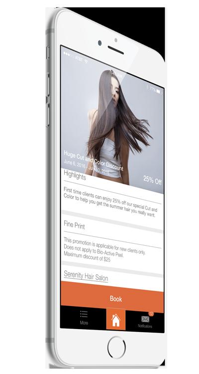 Vagaro iPhone Marketing Deals