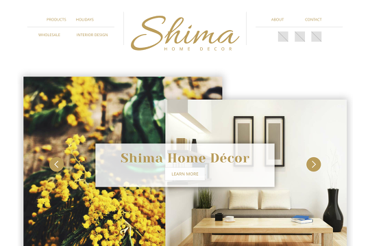 Visit Shima Home Decorwebflowio