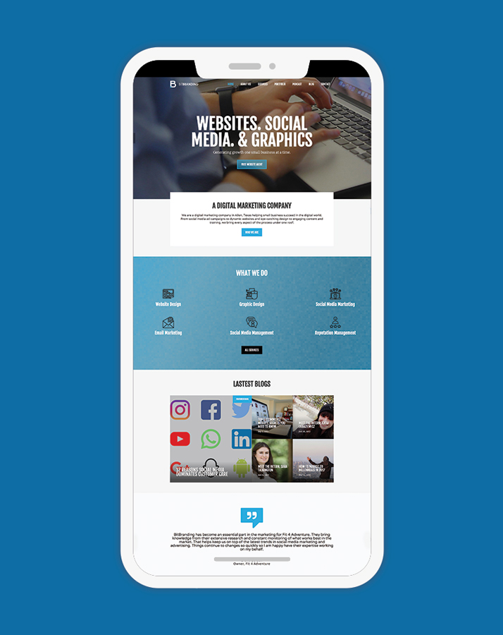 mobile friendly, mobile responsive websites