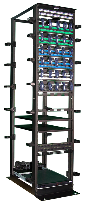 two and four post heavy duty server rack  ER series