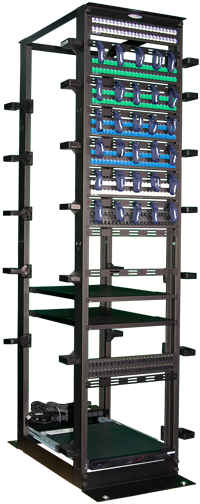 four post server rack series