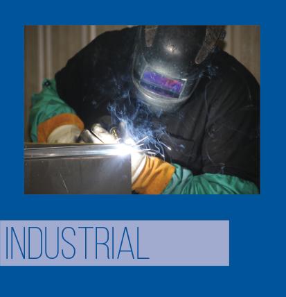 Industrial and NEMA indoor and outdoor industries