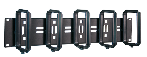 NEW! HORIZONTAL CABLE ORGANIZERS WITH 1/4 TURN 'D' RINGS