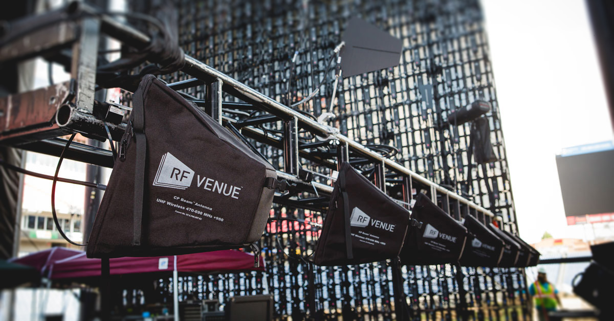 Rf Venue Antennas And Distribution Equipment Now Available