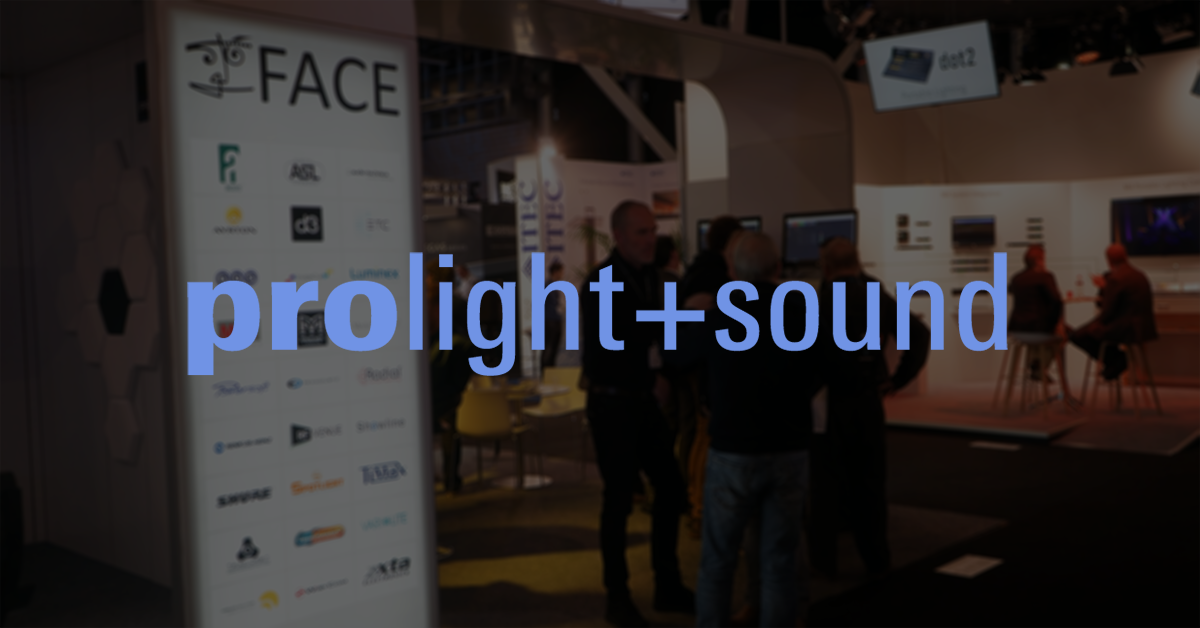 Meet us at Prolight+Sound and Musikmesse 2017