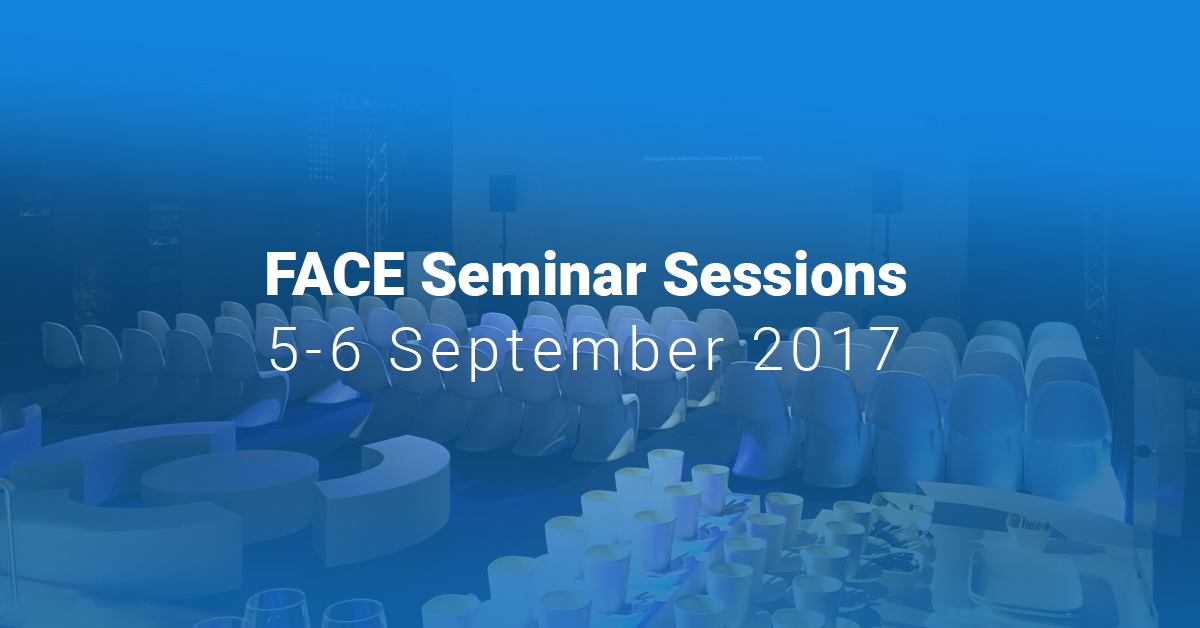FACE Seminar Sessions: September 5-6