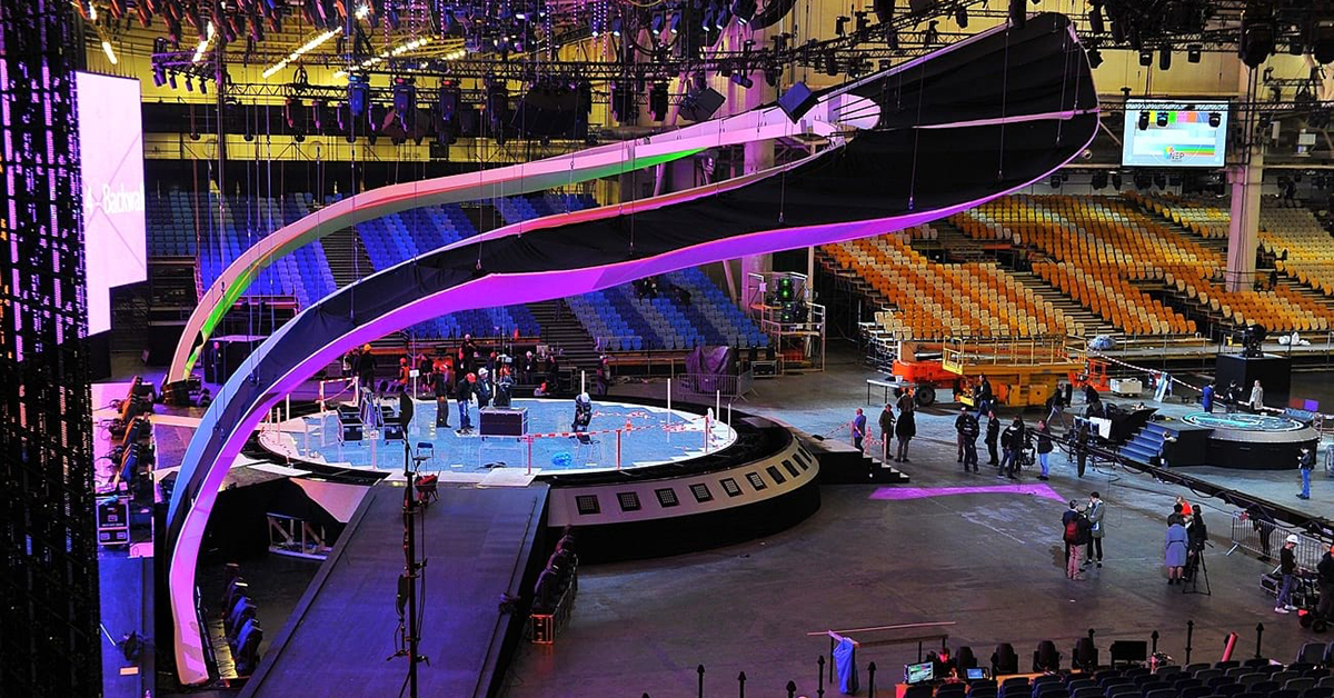 TiMax stage manages Eurovision 2017