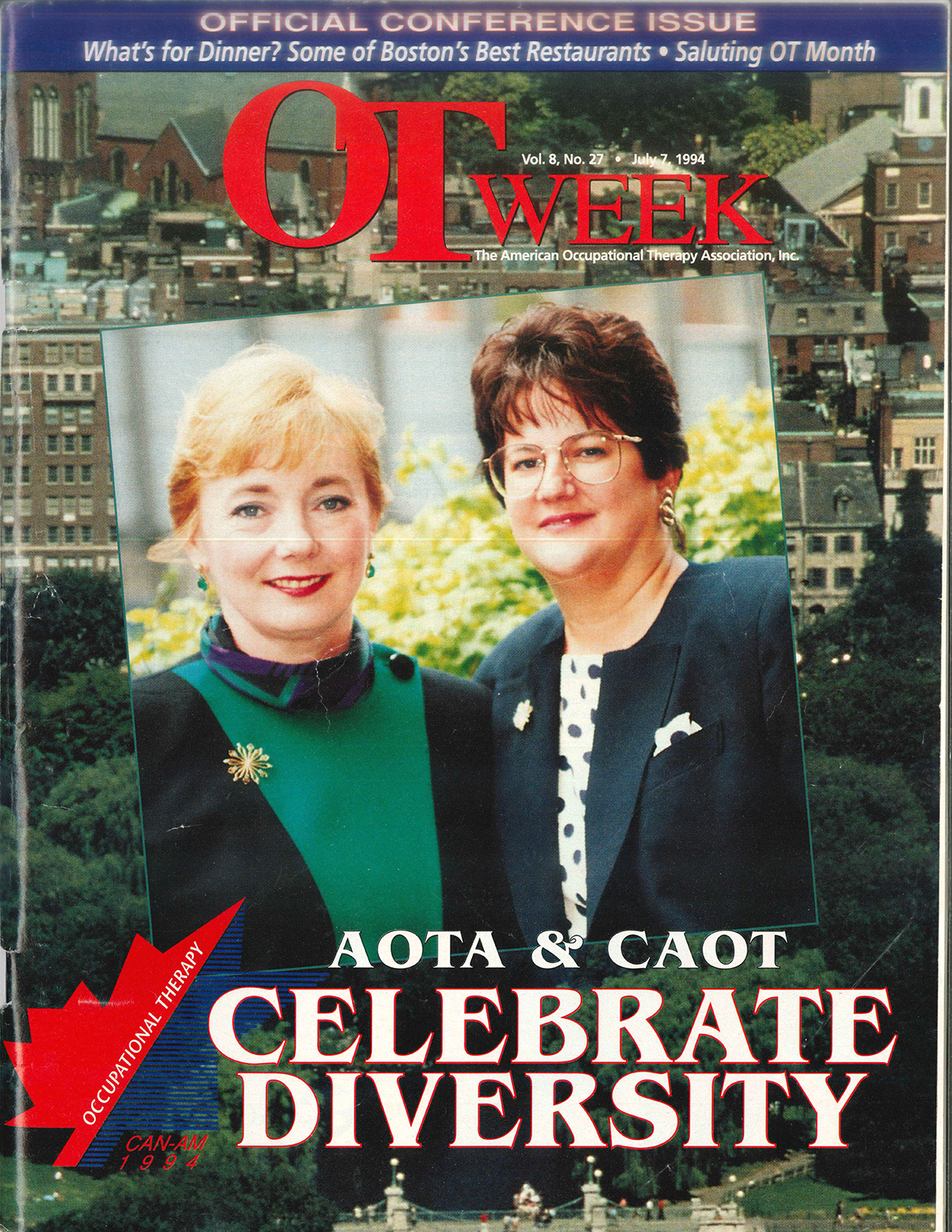 Cover of OT Week in 1994