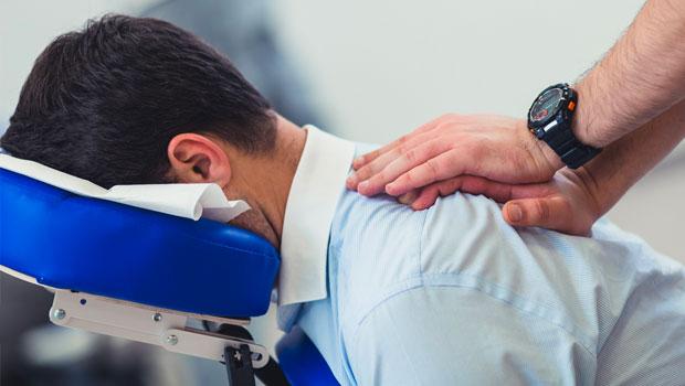 massage, in-office massage, chair massage, benefits, positivity