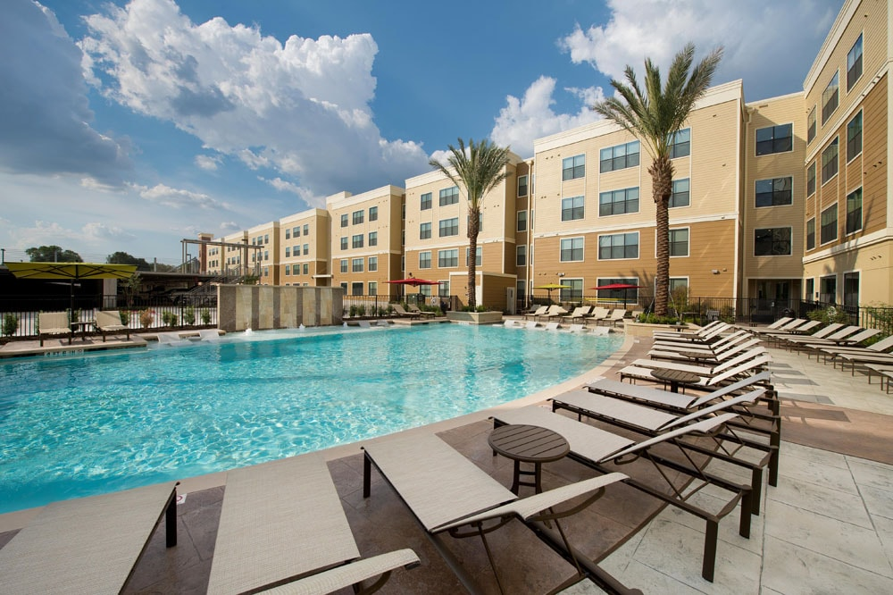 Development asset campus housing for Tallahassee pool builders