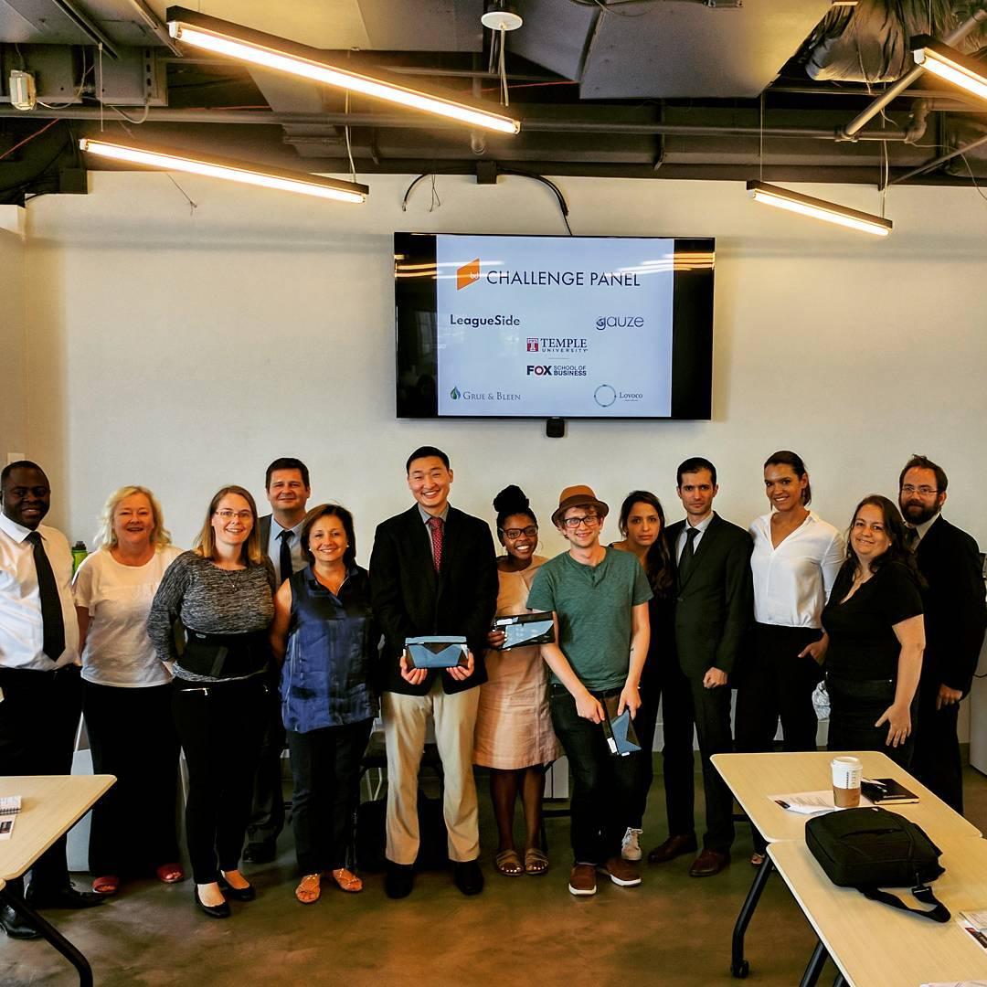 Founders Panel Challenge Talk with Temple Fox EMBA Paris program