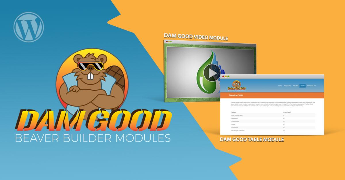 Building a Better Beaver Builder with Dam Good Modules