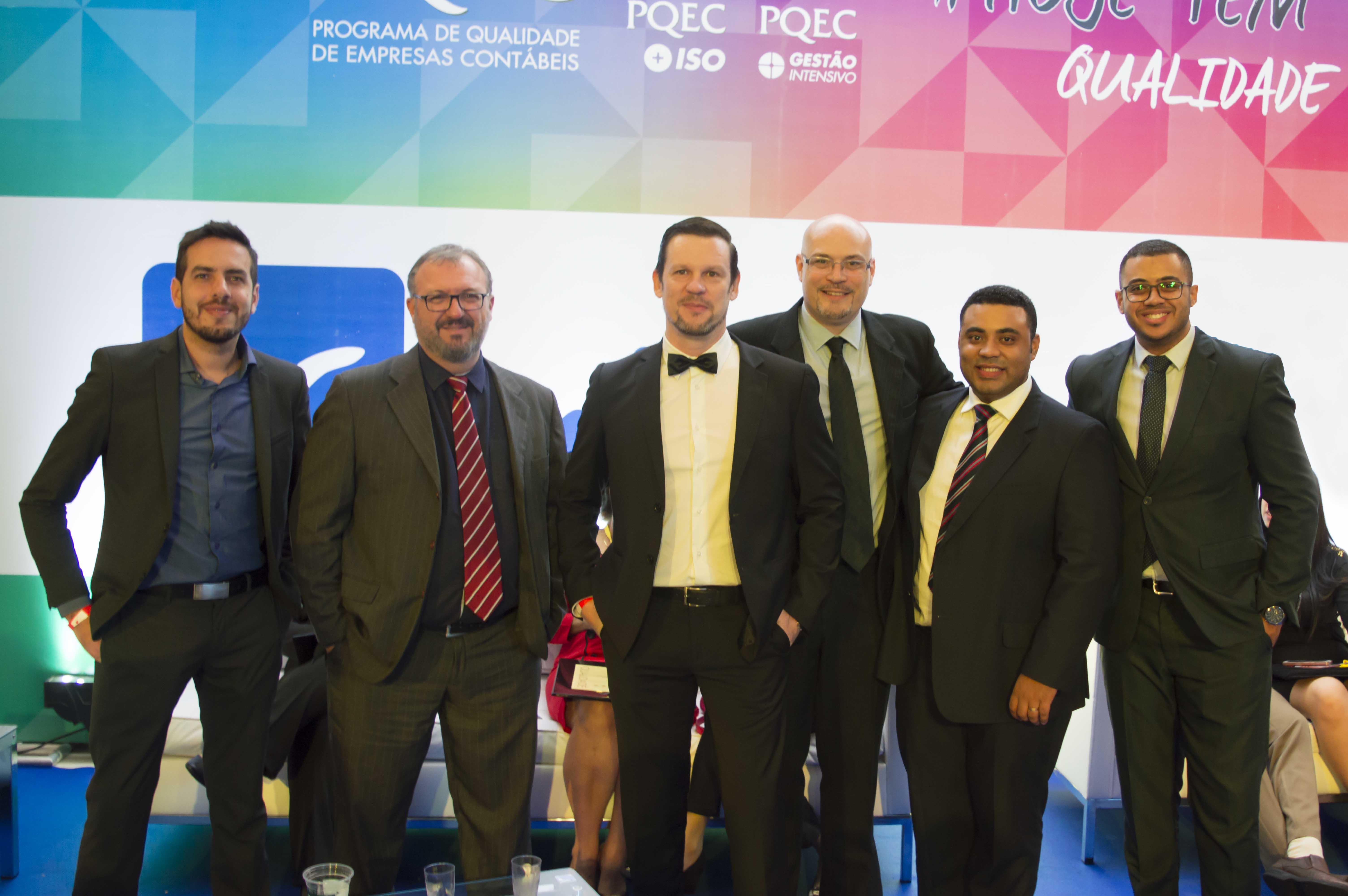 Equipe Omie no PQEC 2017.