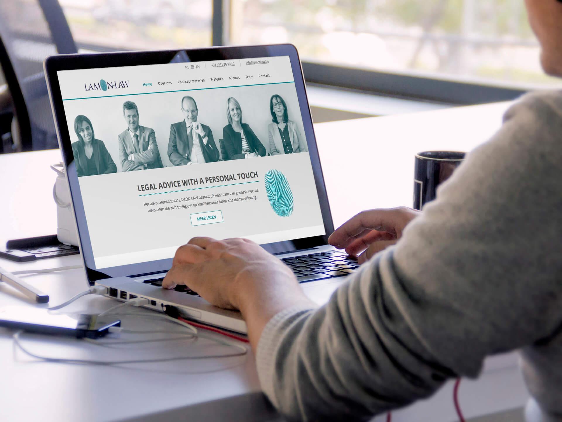 Webdesign - LawyerOnline