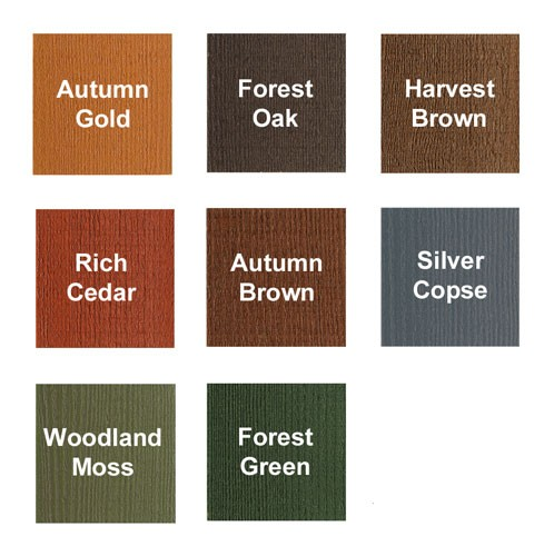 Ducksback Fence Paint Colours