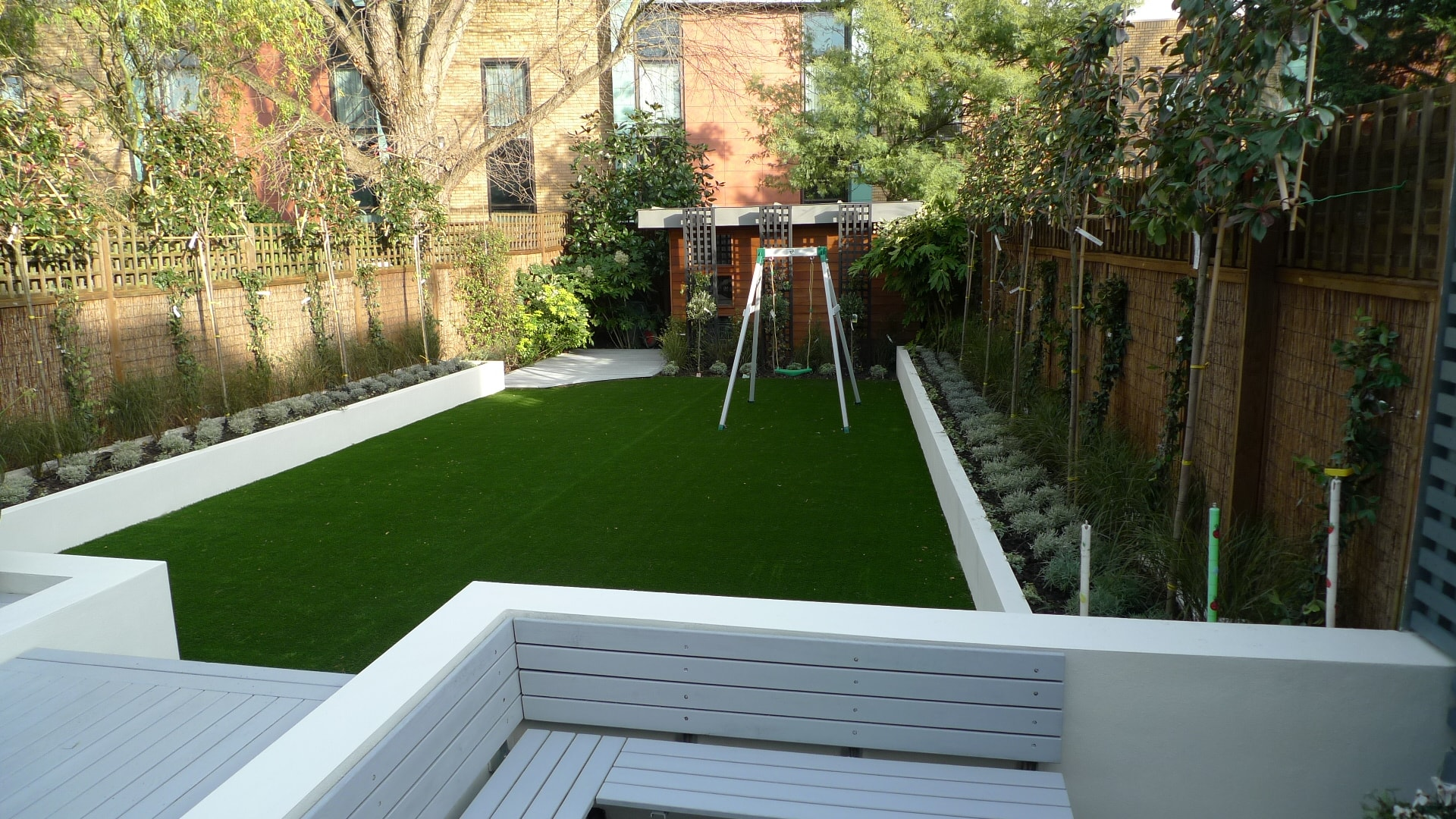 Modren Modern Garden Ideas Uk And More On Contemporary I With