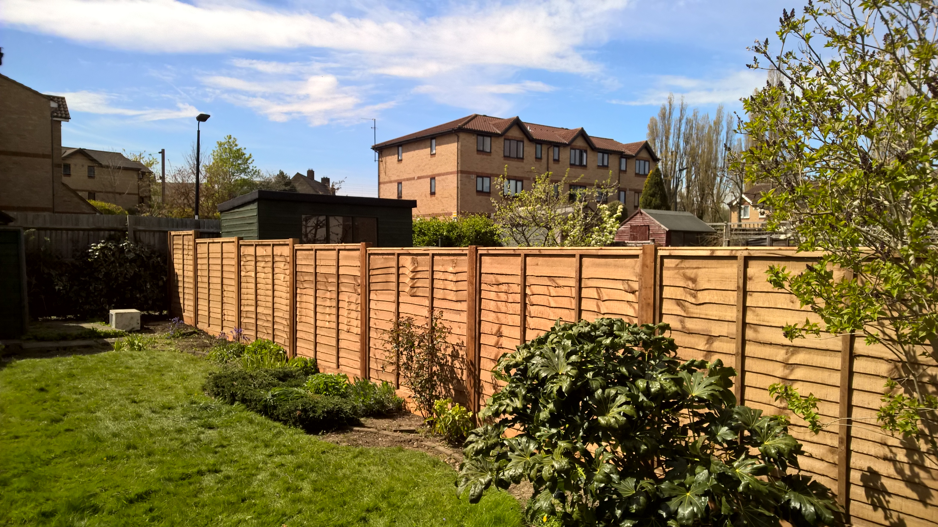 garden fencing services north london creative scapes fence