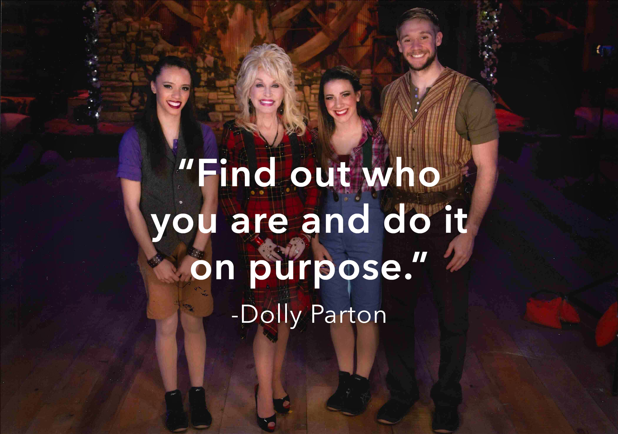 Dolly Parton Quote Do's and Don'ts when applying to internships