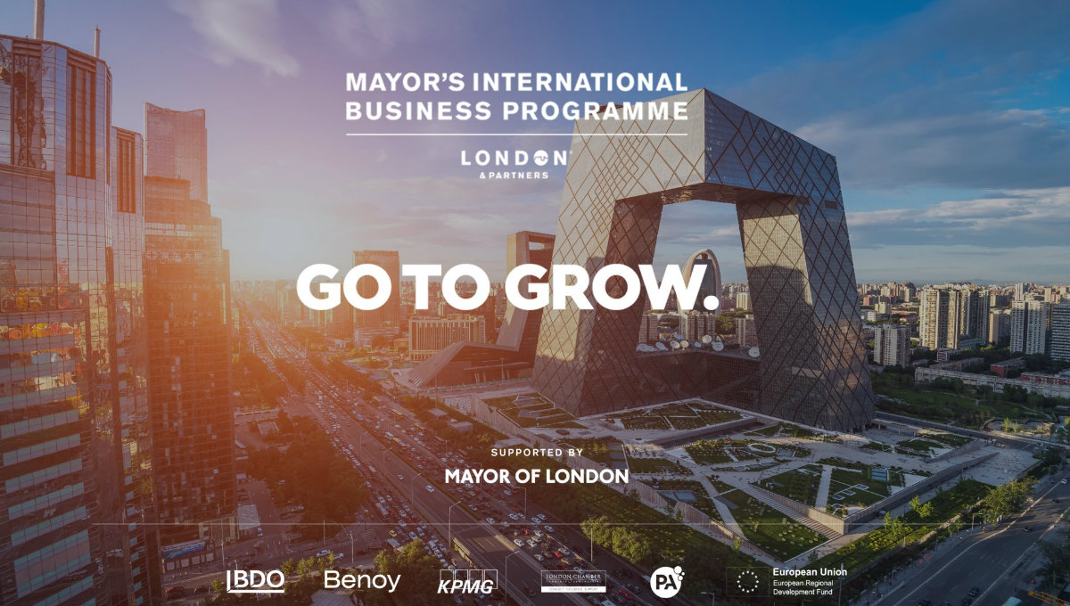 Movement Strategies have joined the Mayor's International Business Programme