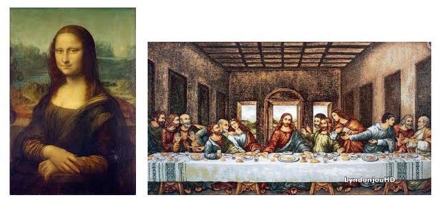La Gioconda y La Última Cena