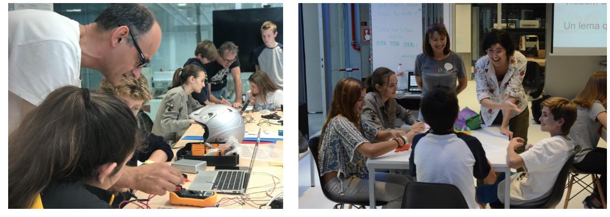 Maker Challenge: design Thinking i fabricació digital a FabLab Sant Cugat