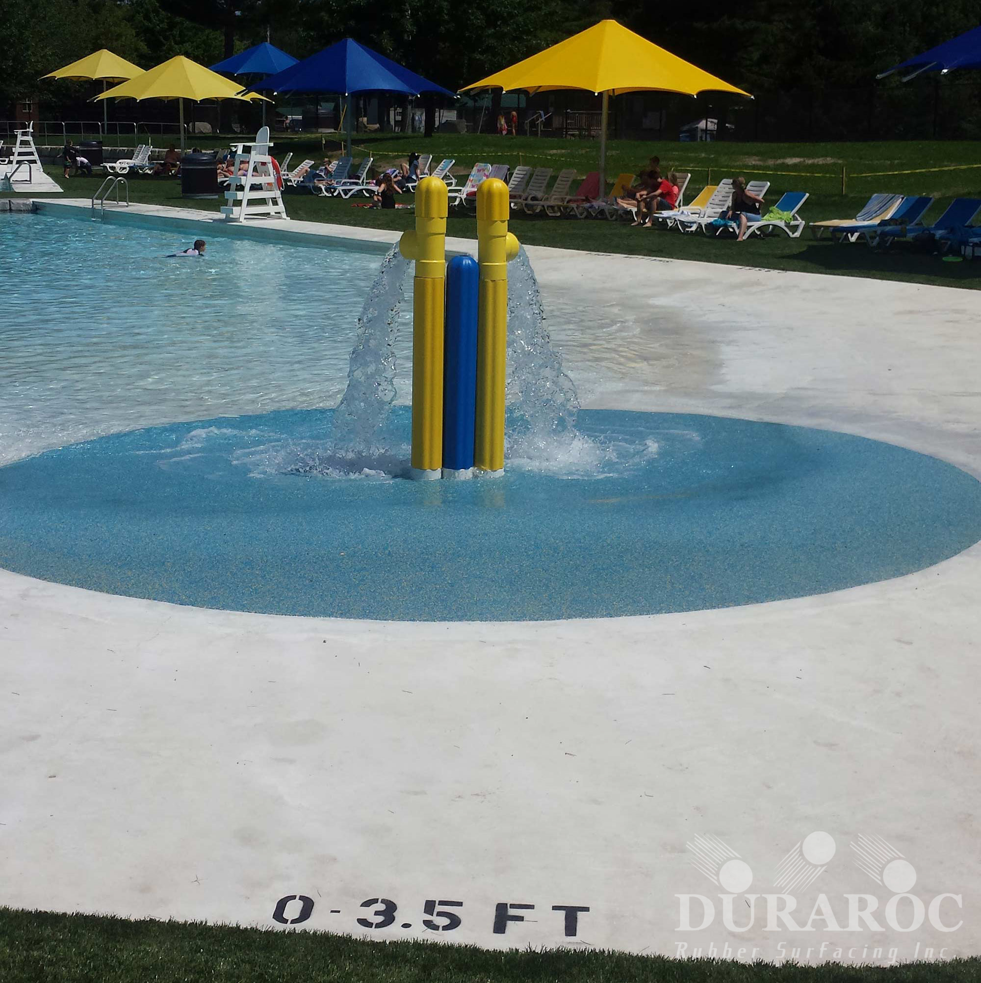 Water Playground with Duraroc coating