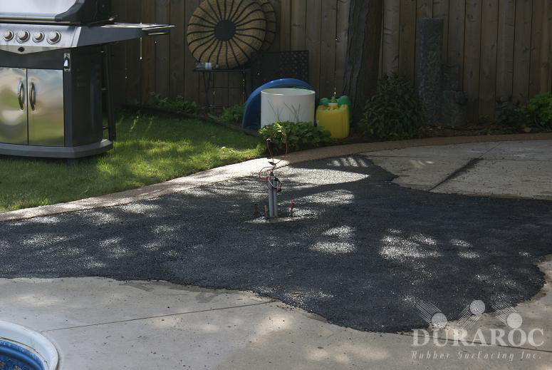 Levelling using Duraroc products