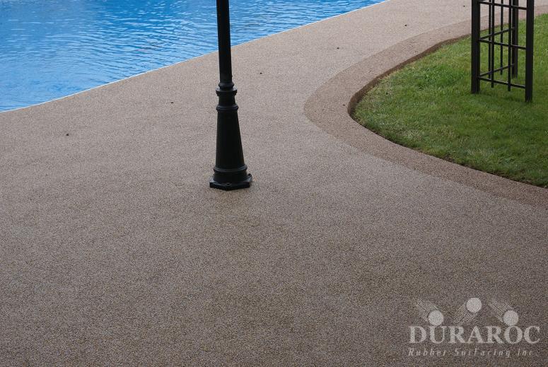 Duraroc colour choice for concrete coating