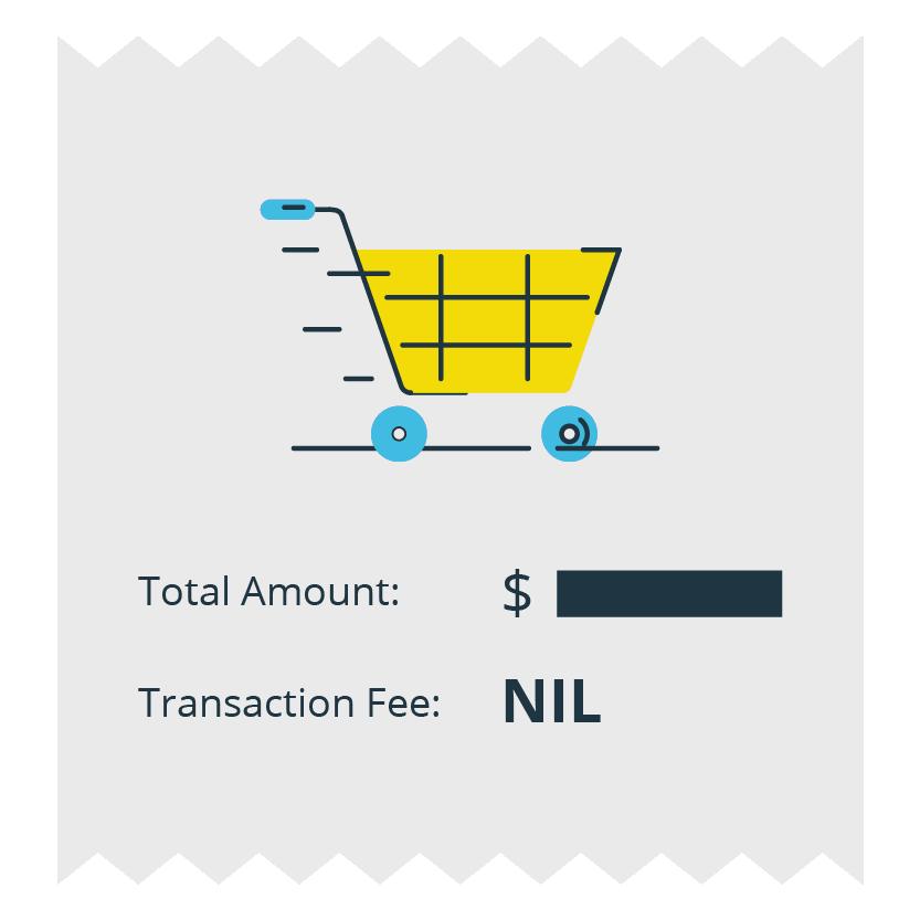 No Transaction Fee