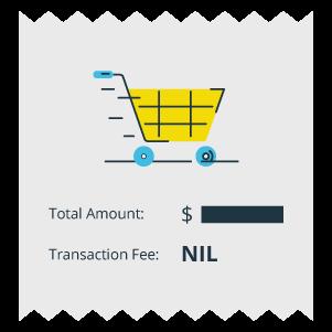 No Transaction Fee.