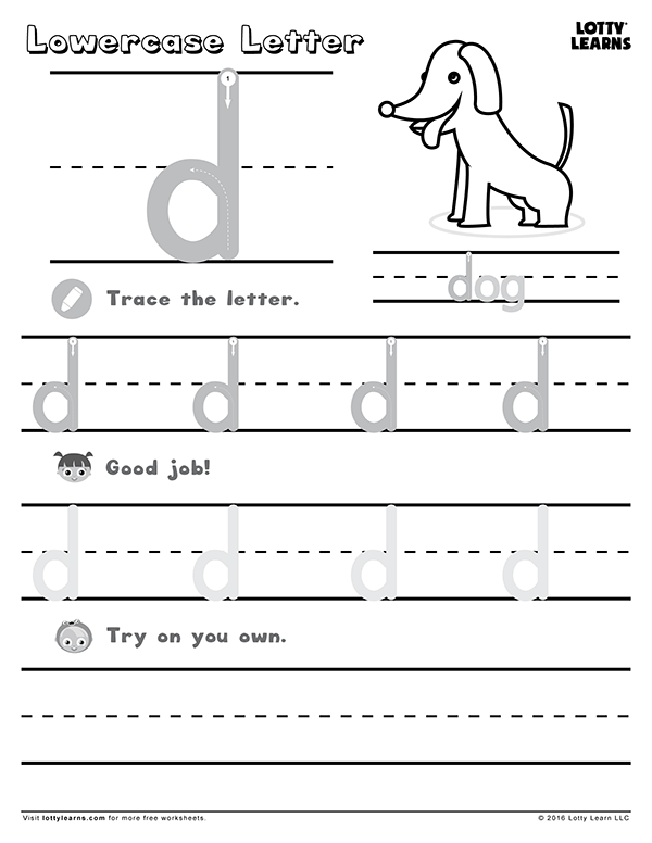Worksheets | Lotty Learns
