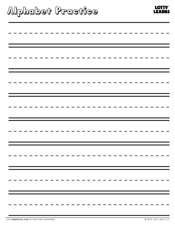 Worksheets – Alphabet Practice Worksheets