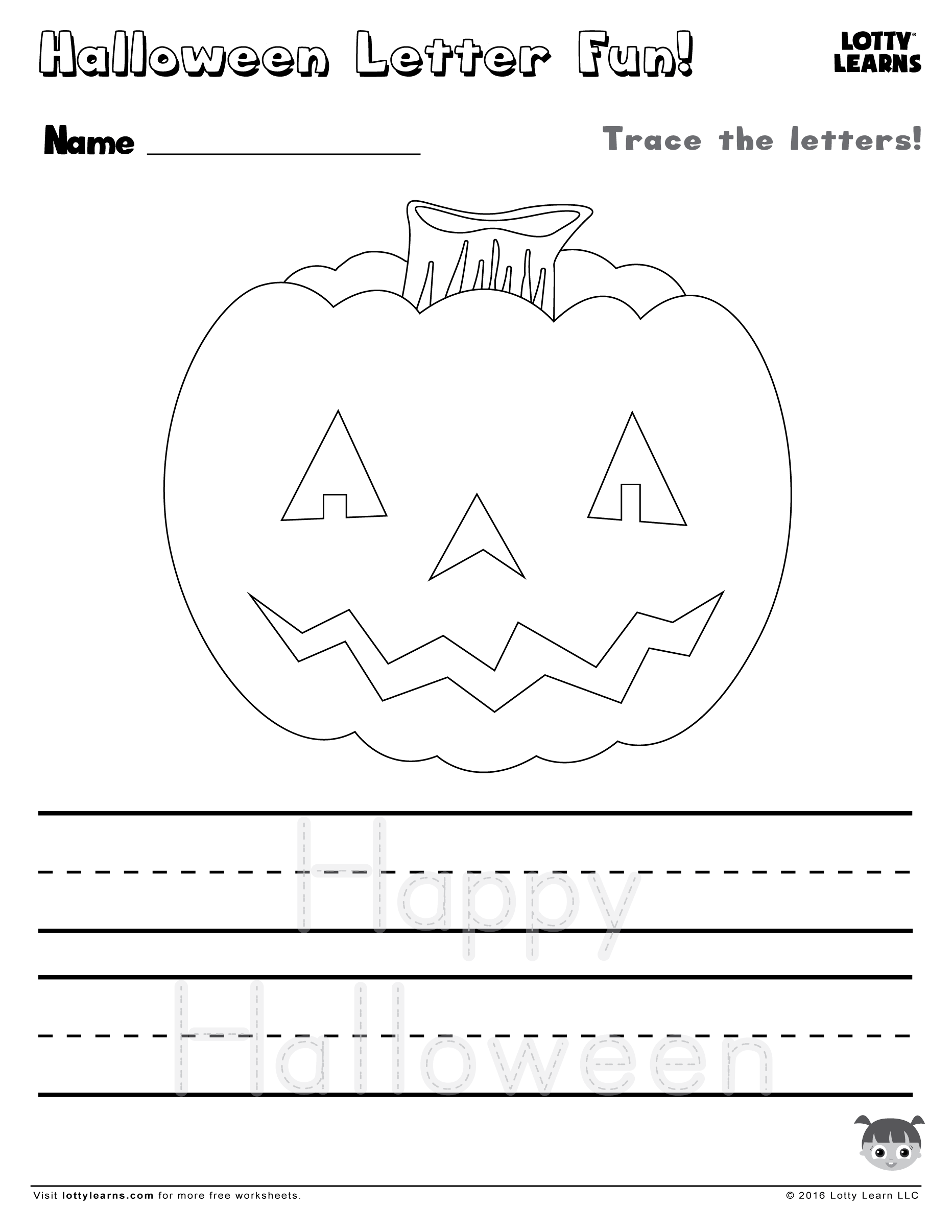 Download Share With Friends Halloween Letter